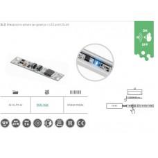 GTV brezdotično stikalo za LED profil GLAX