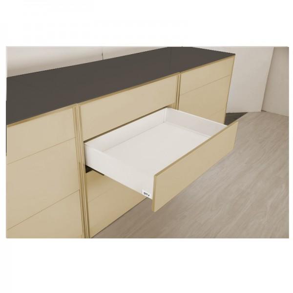 LINOS BOX višine H= 116 mm A beli GTV